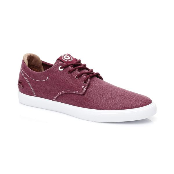 Lacoste Men's Esparre Canvas Trainers