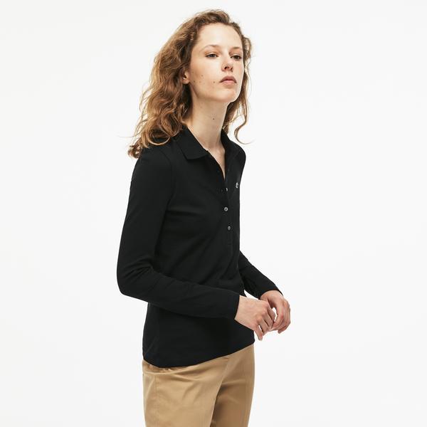 Lacoste Women's Lacoste Long Sleeve Polo