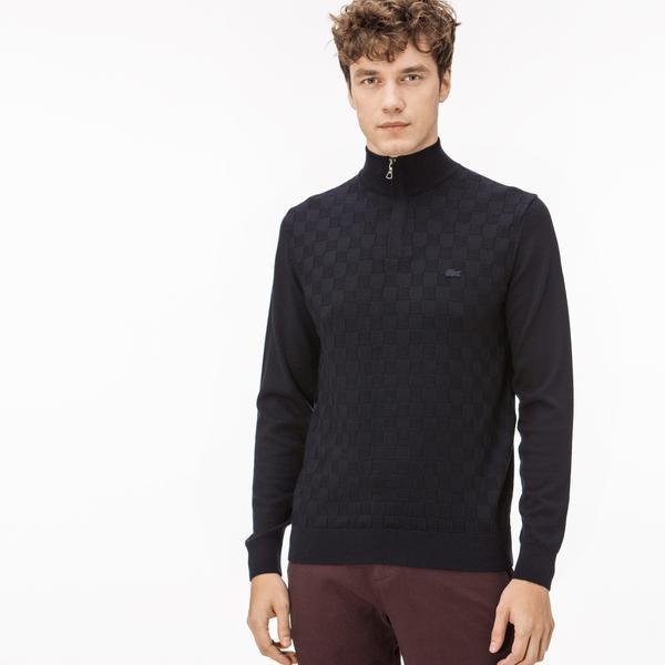 Lacoste Men's Navy Sweater