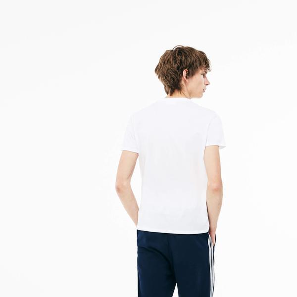 Lacoste Men's V-Neck T-shirt