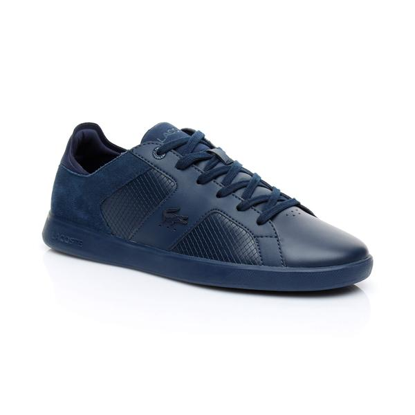 Lacoste Men's Novas Leather Trainers