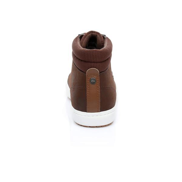 Lacoste Męskie Skórzane Sneakers Straightset