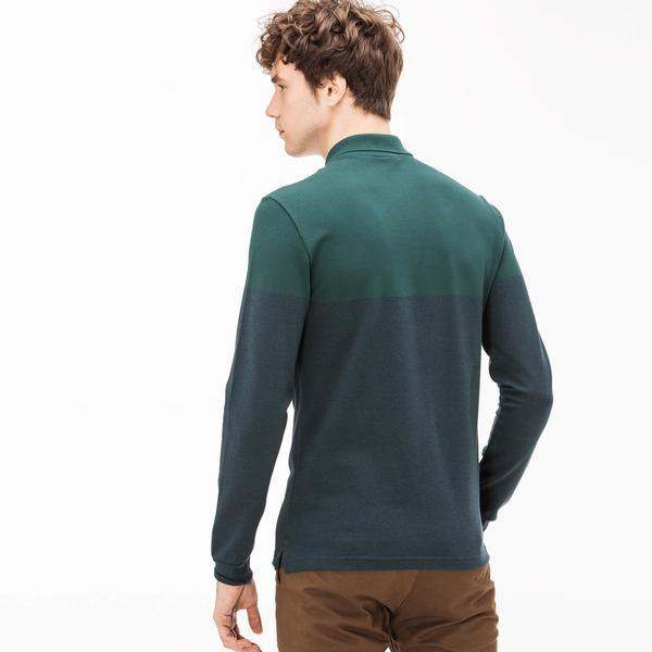 Lacoste Men's Slim Fit Green Polo
