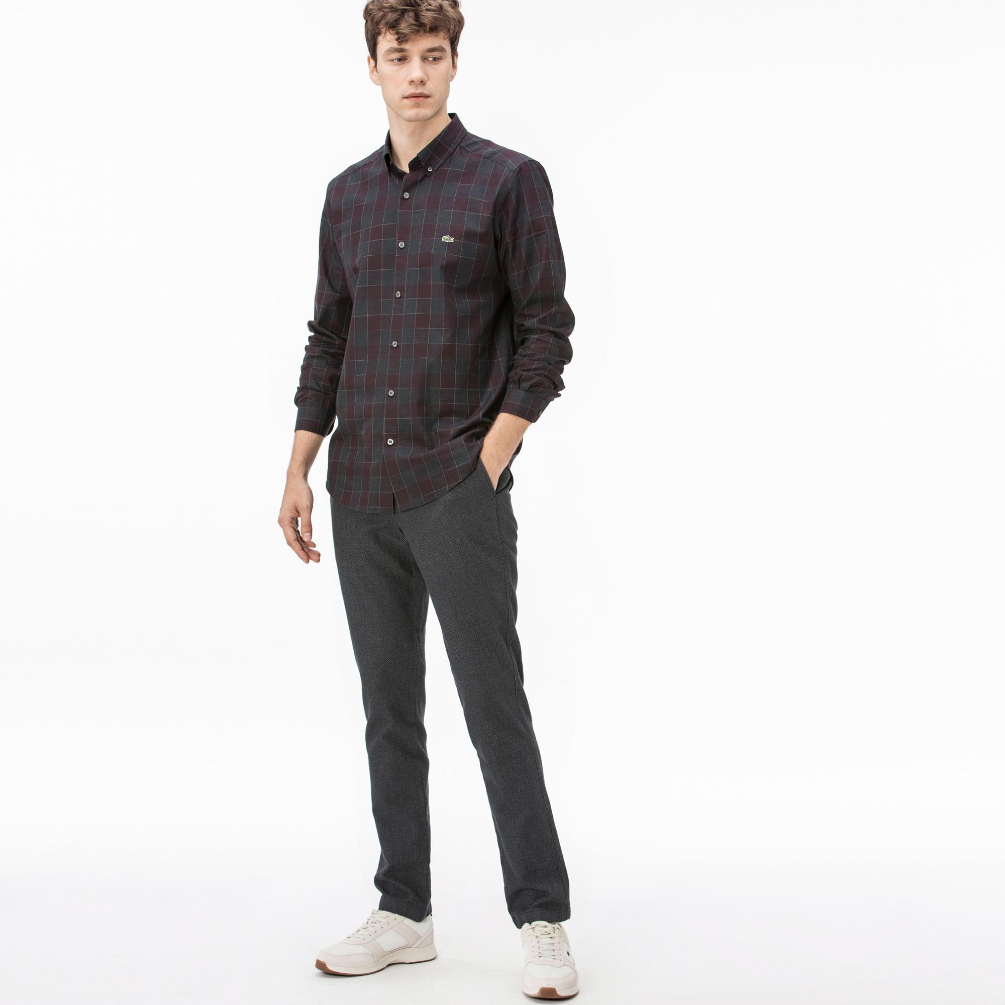 Lacoste Men's Black Trousers