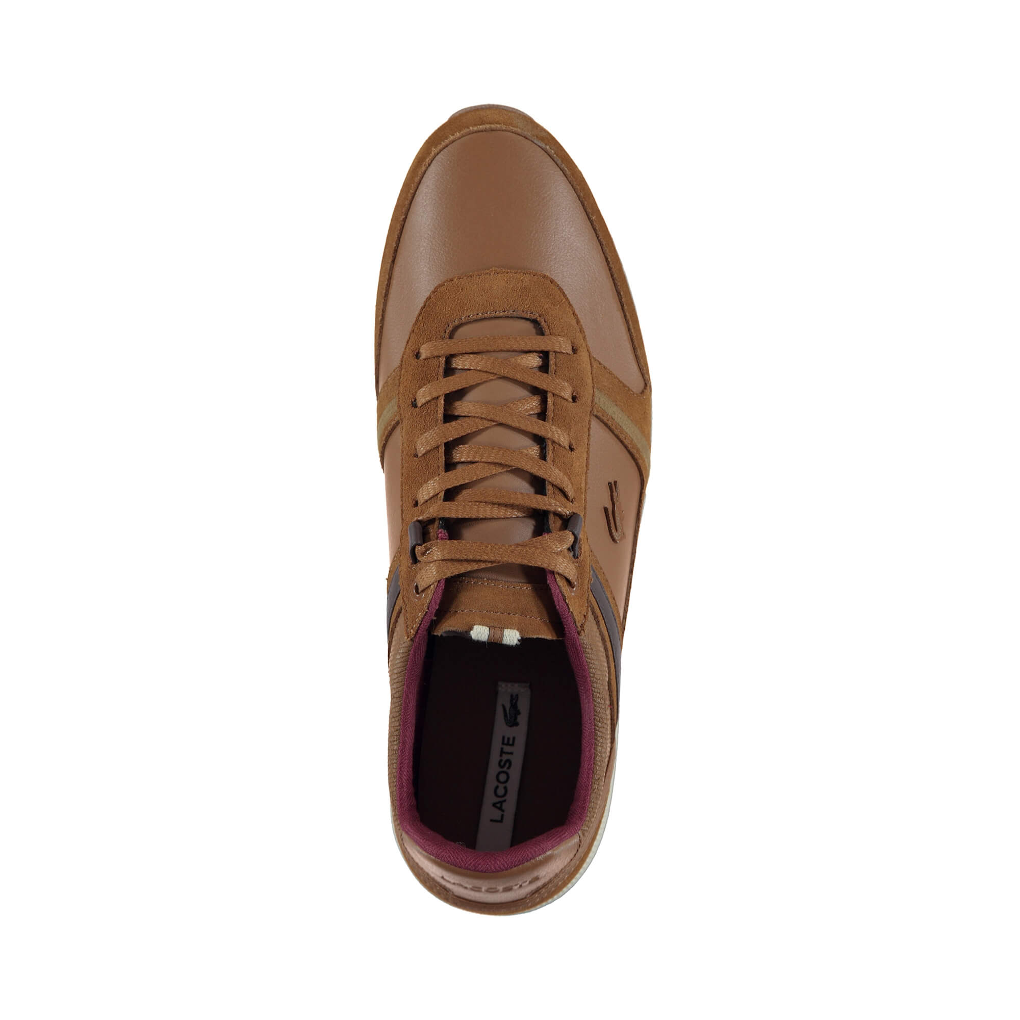 Lacoste Men's Menerva 318 1 Coffee Casual Shoes