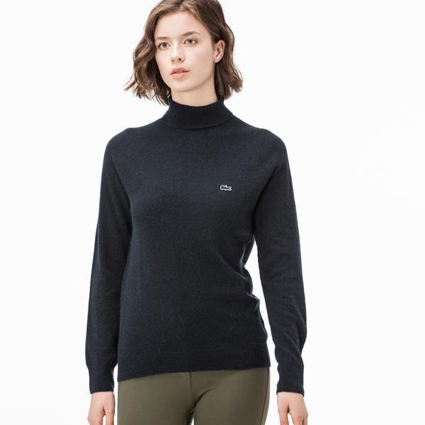 Lacoste Women's Navy Knitwear