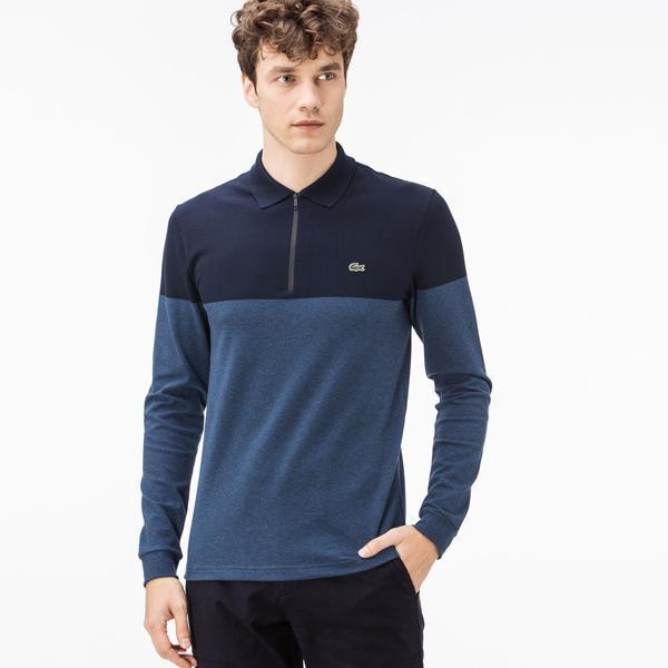 Lacoste Men's Slim Fit Navy Polo
