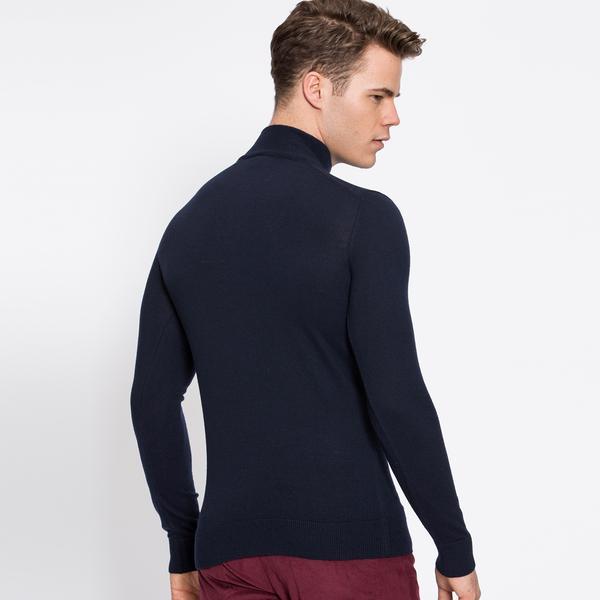 Lacoste Men's Navy Knitwear