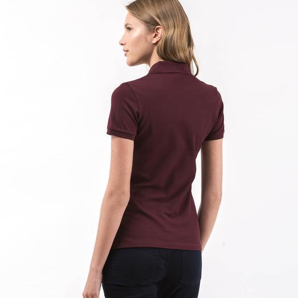 Lacoste Women's Purple Slim Fit Polo