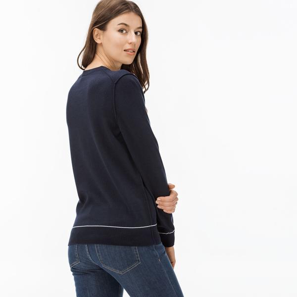 Lacoste L!VE Women's Navy Knitwear