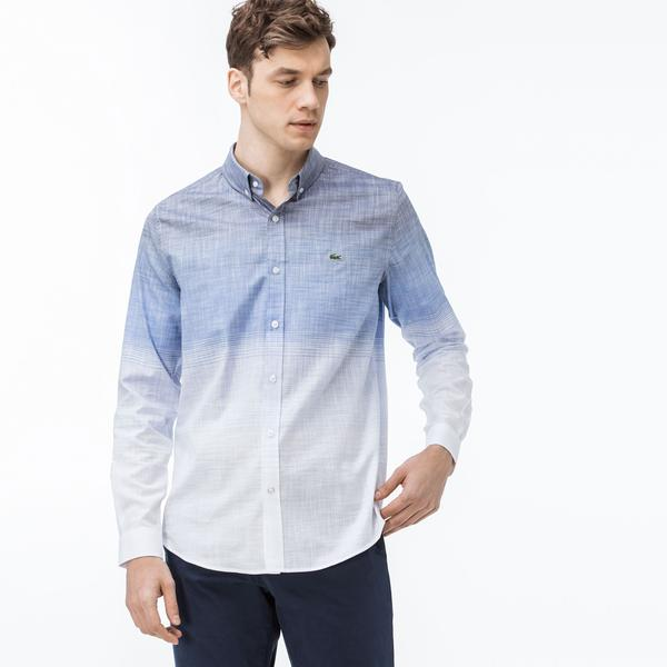 Lacoste Men's Long Sleeves Wovens Shirt