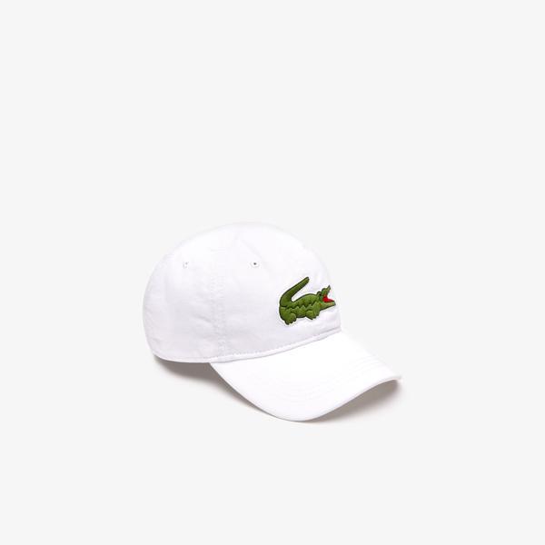 Lacoste Męska czapka o regularnym kroju z gabardyny