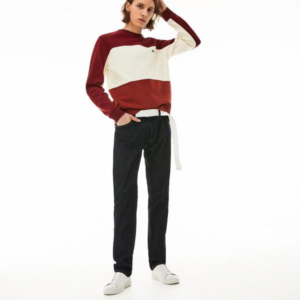 Lacoste Męskie spodnie o dopasowanym kroju