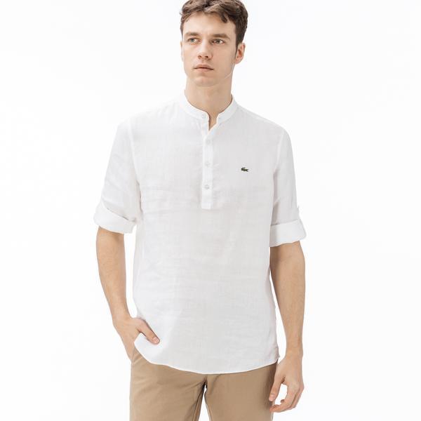 Lacoste Men's Long Sleeves Wovens Shirt