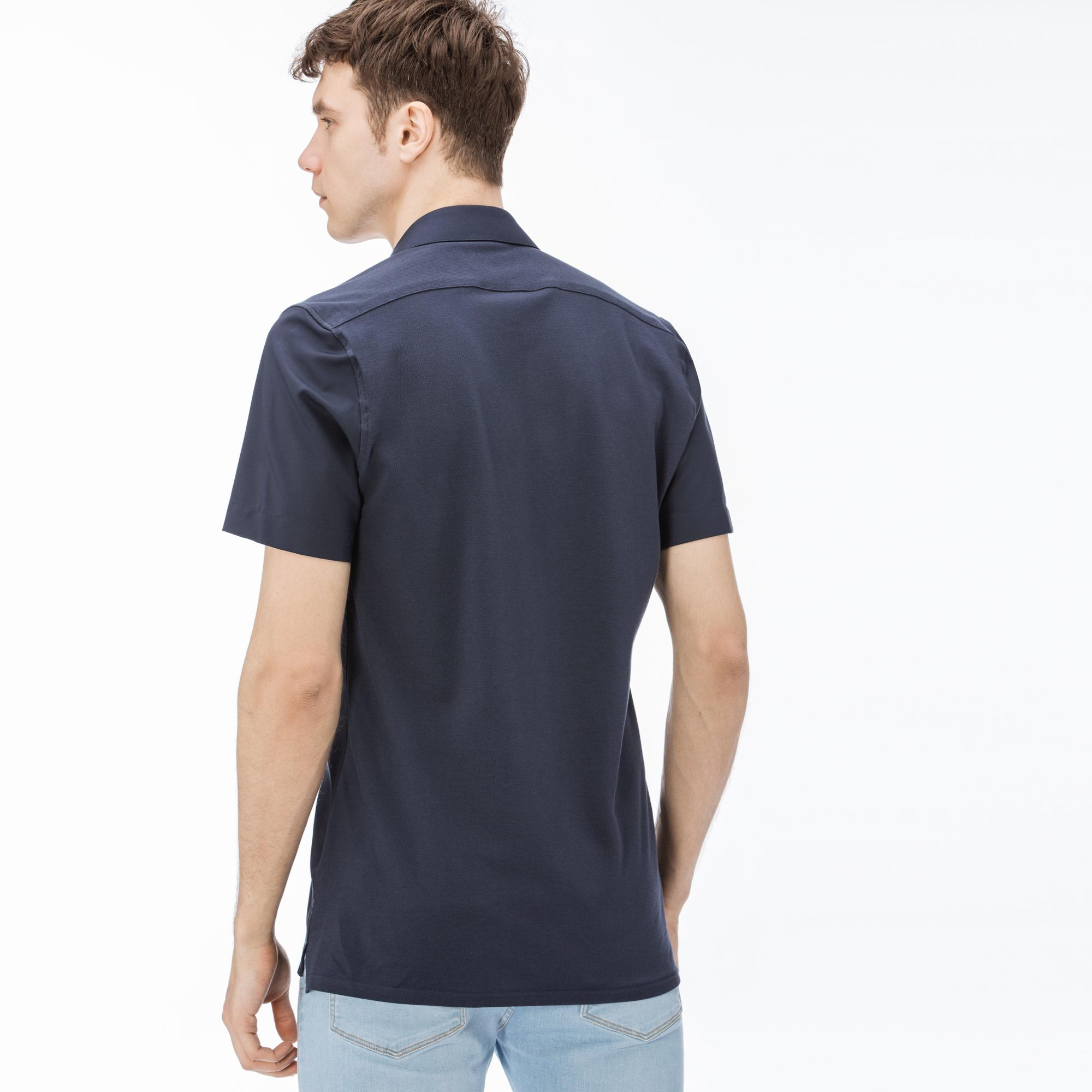 Lacoste Men's Short Sleeves wovens shirt