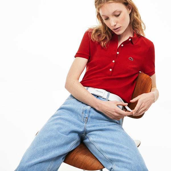 Lacoste Women's Short Sleeves  Polo